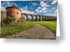 Viaduct Ty Mawr Park Greeting Card by Adrian Evans