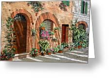 Viaggio In Toscana Greeting Card by Guido Borelli