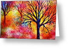 Vibrant Greeting Card by Ann Marie Bone
