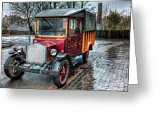 Victorian Car Replica  Greeting Card by Adrian Evans
