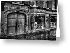 Victorian Menswear Greeting Card by Adrian Evans