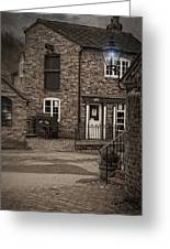 Victorian Stone House Greeting Card by Amanda And Christopher Elwell