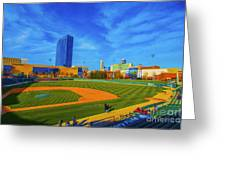 Victory Field 2 Greeting Card by David Haskett