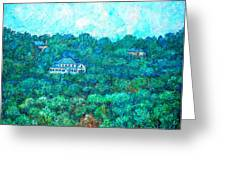 View From Rec Center Greeting Card by Kendall Kessler