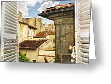 View in Cognac Greeting Card by Elena Elisseeva