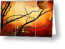 View Of Autumn Greeting Card by Lourry Legarde