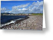 Village By The Sea - County Kerry - Ireland Greeting Card by Aidan Moran