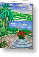 Villefranche Sur Mer---cote-d'azur Greeting Card by Ronald Haber
