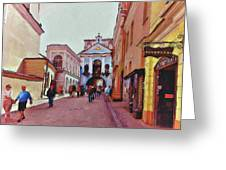 Vilnius Old Town 13 Greeting Card by Yury Malkov