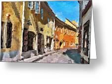 Vilnius Old Town 35 Greeting Card by Yury Malkov