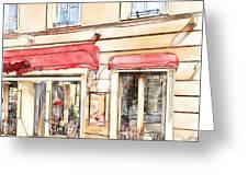 Vilnius Windows 3 Greeting Card by Yury Malkov