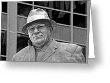 Vince Lombardi Greeting Card by James Hammen
