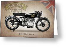Vincent Hrd Rapide Greeting Card by Mark Rogan