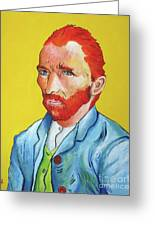 Vincent Van Gogh Greeting Card by Venus