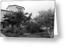 Vineyard Creek Hyatt Hotel Santa Rosa California 5d25795 Bw Greeting Card by Wingsdomain Art and Photography