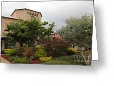 Vineyard Creek Hyatt Hotel Santa Rosa California 5d25795 Greeting Card by Wingsdomain Art and Photography