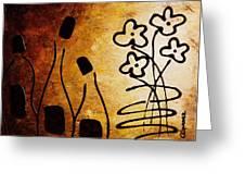 Vini Italiani Famosi Greeting Card by Carmen Guedez