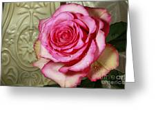Vintage Beauty Rose Greeting Card by Inspired Nature Photography By Shelley Myke