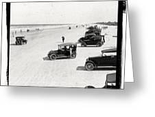 Vintage Daytona Beach Florida Greeting Card by Edward Fielding