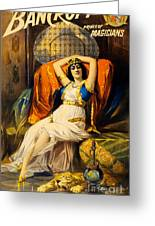 Vintage Nostalgic Poster - 8037 Greeting Card by Wingsdomain Art and Photography