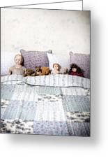 Vintage Toys Greeting Card by Joana Kruse