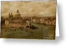 Vintage Venice Greeting Card by Lois Bryan