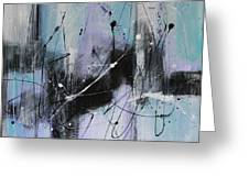 Violet Fields Greeting Card by Lauren Petit