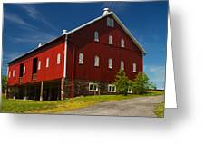 Virginia Red Barn Greeting Card by Guy Shultz