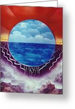 Visions Greeting Card by Jason Girard