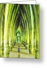 Visiting Emerald City Greeting Card by Mo T