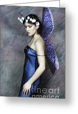 Vogue Fairy Greeting Card by Andrew Govan Dantzler