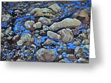 Voice Of The Stones Greeting Card by Carla Stein