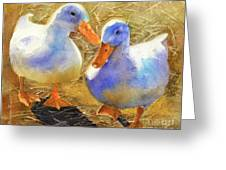 Wait For Me Greeting Card by Bonnie Rinier