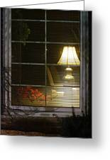 Waiting At The Window Greeting Card by Guy Ricketts