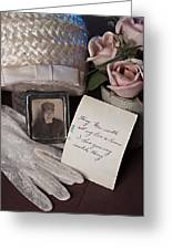 Waiting For Him To Come Home Greeting Card by Sherry Hallemeier