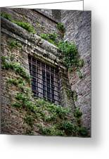Waiting In Line For The Dome Greeting Card by Joan Carroll