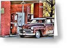 Waiting.... Greeting Card by Joe Russell