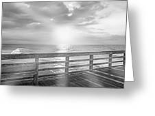 Waking Coast Greeting Card by Betsy A  Cutler