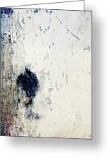 Walking In The Rain Greeting Card by Carol Leigh