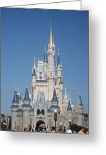 Walt Disney World Resort - Magic Kingdom - 1212129 Greeting Card by DC Photographer