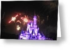 Walt Disney World Resort - Magic Kingdom - 121238 Greeting Card by DC Photographer
