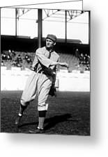 Walter P. Johnson Pre Game Warm Up Greeting Card by Retro Images Archive
