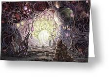 Wanderer Greeting Card by Mark Cooper