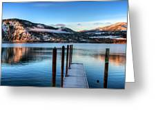 Wapato Point Greeting Card by Spencer McDonald