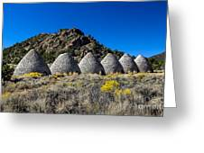 Wards Charcoal Ovens Greeting Card by Robert Bales