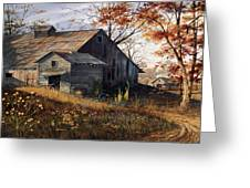 Warm Memories Greeting Card by Michael Humphries