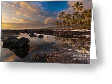 Warm Reflected Place Of Refuge Skies Greeting Card by Mike Reid