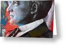 Warren G. Harding Greeting Card by Corporate Art Task Force