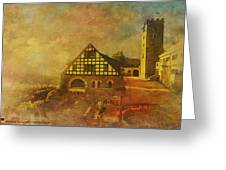 Wartburg Castle Greeting Card by Catf