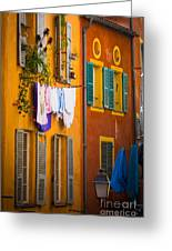 Wash Day Greeting Card by Inge Johnsson
